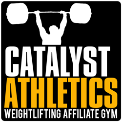 A proud Catalyst Athletics Weightlifting Affiliate Gym.